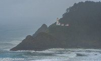 Heceta Head Lighthouse, Oregon Coast.